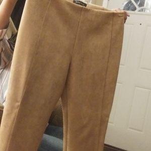 Ivanka trump 4faux suede pants brandnew never worn